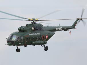 «Вертолеты России» поставили  партию Ми-171Ш в Перу