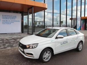 АВТОВАЗ представил двухтопливную Lada Vesta CNG