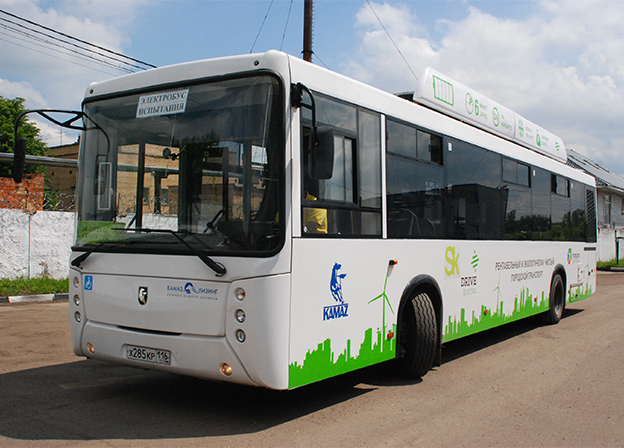 КАМАЗ покажет в Казани электробус второго поколения