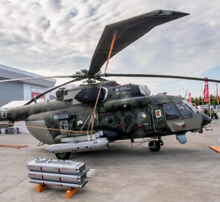 Russian Helicopters Showcased Modernized Mi-171SH for the First Time