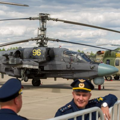 "Russian Army Receives new ""Alligator"" Helicopters"