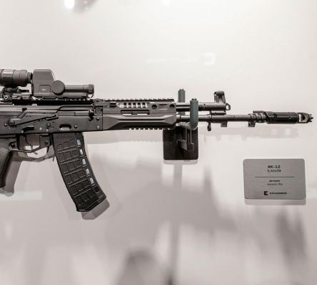Kalashnikov Showcased Newly Refined AK-12