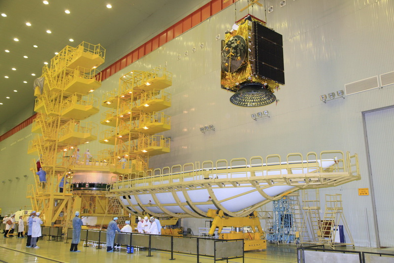 Rostec Manufactured a Frameless Body for an EgyptSat-A Satellite